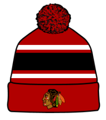 Zephyr Chicago Blackhawks Custom Knit Tupsullinen NHL -pipo (P)