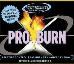Supermass Nutrition PRO BURN 180kaps