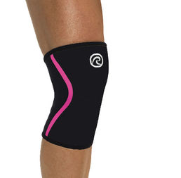Rehband Rx Knee Support Black/Pink (7mm) -polvituki 105434 (1kpl)